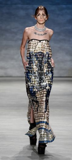 Mercedes-Benz Fashion Week - Falguni and Shane Peacock Spring 2015 RTW