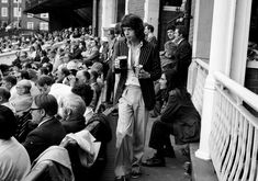 Holly, who died in a plane crash at the age of 22 in 1959, influenced a generation of rock 'n roll musicians. One of them was the Rolling Stones' Mick Jagger, who watched Holly perform on this 1958 tour, and has been a lifelong cricket fan. Jagger himself was a pioneer in online cricket coverage - his media company, Jagged Networks, was broadcasting matches over the internet in the late 1990s, offering a live audio feed and video highlights, in partnership with Cricinfo.