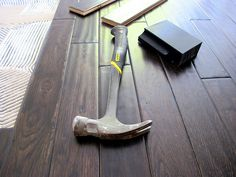 how to install hard wood floors click now for info. Types Of Wood Flooring, Installing Hardwood Floors, Real Wood Floors, Modern Flooring, White Oak Floors, Unique Flooring, Wide Plank Flooring, Best Flooring, Engineered Hardwood Flooring