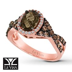 Alluring rings, necklaces, and timepieces uniquely flavored with the sweetest diamonds, gems and gold. Witness Le Vian's most exquisite jewelry collection. Gem Diamonds, Colored Diamonds, Chocolate Rings, Quartz Ring, Diamond Are A Girls Best Friend, Jewelery, Le Vian, Gemstones, Bling