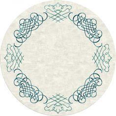 """""""Luxembourg"""" round by NIBA Rug Collections. #rug"""