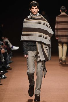 Kolor Fall 2015 Menswear - I need a blanket next season