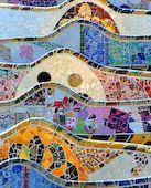 Gaudi Art Nouveau Wall Hanging