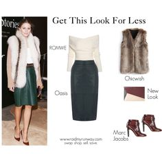 Get Olivia's Look For Less   swap. shop. sell. save. www.raidmyrunway.com