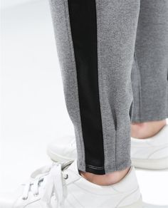 Image 5 of CUFFED SWEATPANTS from Zara