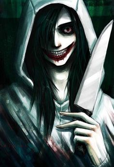 Jeff The Killer looks AMAZING! In this picture..............*Sigh* This is what I fangirl about