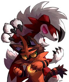 Lycanroc & Torracat/Night29