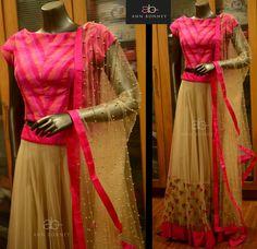 Indian Skirt, Indian Dresses, Indian Attire, Indian Ethnic Wear, Half Saree Designs, Blouse Designs, Ethnic Outfits, Indian Outfits, Indian Designer Outfits