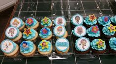 Bubble Guppies Cupcakes - Amy's Crazy Cakes
