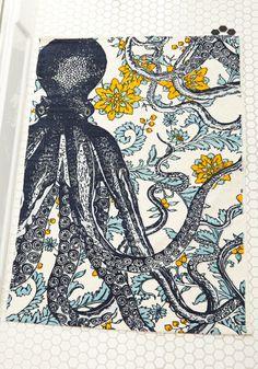 Floral + Squid = <3!