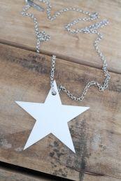 MARUdesign STAR, Valkoinen+ketju