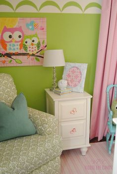 Super super small but super cute nursery that's exactly what I'm looking for!