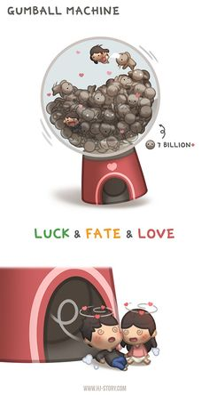 HJ-Story: Luck, fate and love (Gumball Machine)