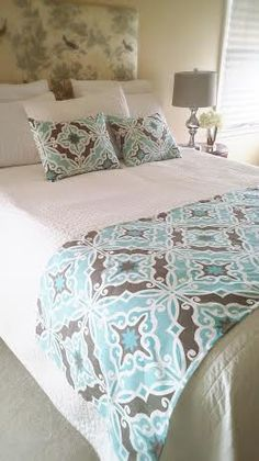 Bed Runner Beddings Bed Cover Bed Scarf by simplydivinebyjoann