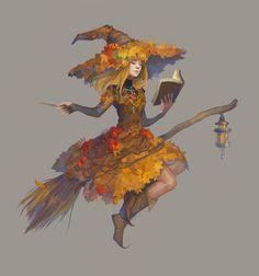 Autumn witch, Ada Musatova