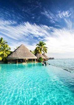 Tahiti. What a beautiful place