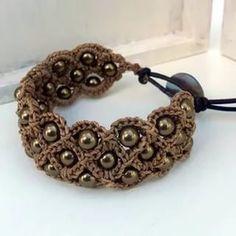 crochet cuff bracelet pattern: 25 тыс изображений найдено в Яндекс.Картинках