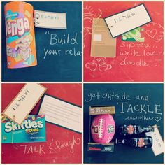date night kits.. good present for newly weds