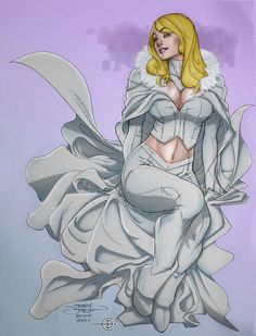 The White Queen by Terry Dodson