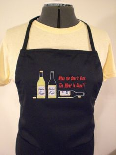 Adult 2Pocket Apron For Men by Beachcovers on Etsy, $15.00