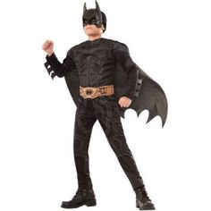 Your child will be ready to save all of Gotham with this Batman Halloween costume (available for $15).