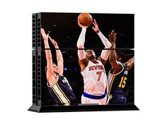 FreeSticker NBA Basketball Sports Fan PS4 Designer Skin Game Console System plus 2 Controller Decal Vinyl Protective Covers Stickers f Sony PlayStation 4 New York Knicks Team Logo -- You can get more details by clicking on the image.Note:It is affiliate link to Amazon.