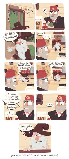 A Change | McGucket & Grunkle Stan | Gravity Falls part 1
