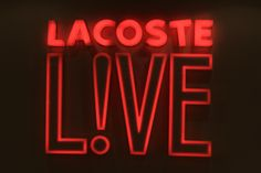 Lacoste L!VE Music & Art Session in Buenos Aires, Argentina.