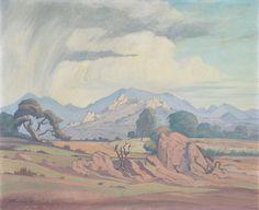 Jacob Hendrik Pierneef (South African, 1886-1957) Hectorspruit