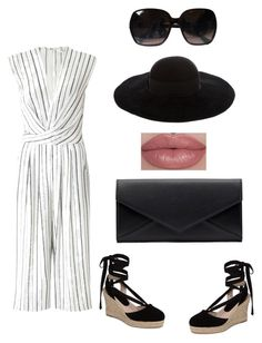 """Untitled #52"" by queennakayla08 on Polyvore featuring Miss Selfridge, Topshop, Chanel and Eugenia Kim"
