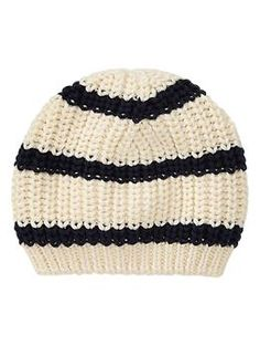 Striped sweater hat | Gap