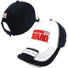 Chase Authentics Dale Earnhardt Jr. Adrenaline Adjustable Hat - White/Black - $18.99