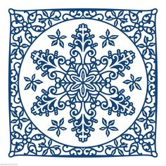 Tattered Lace Cutting Die - Krystal - Christmas Snowflake - D412 - New Out