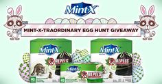 50 winners will receive a month's supply, 50ct box, of Mint-X Rodent Repellent Tall Kitchen Trash Bags!!!