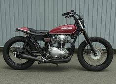 M Kawasaki W650... tracker