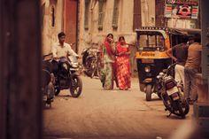 Tuk tuki z miasta Dźodhpur