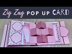 Mini Scrapbooks, Pop Pop, Shaped Cards, Origami Paper, Zig Zag, Art Journaling, Mini Albums, Card Ideas, Scrapbooking