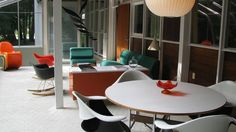The Charles Eames Max De Pree House. Discover this not well known Eames gem, click on the image.
