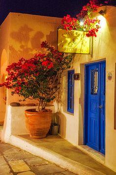Oia, Doorway