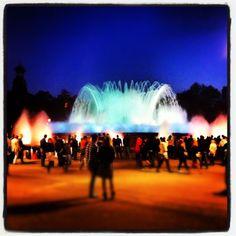 La Fuente de Montjuic
