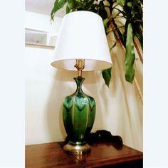 grande+Lampe+en+céramique+année+50+décoration+colorée+unique+
