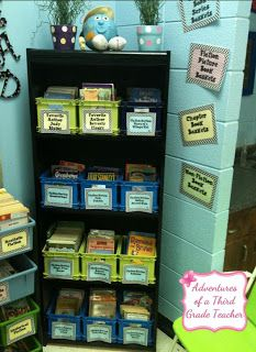 Short on space? Don't forget to use your classroom corners.