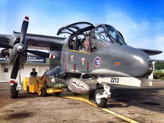 OV-10 Grupo Aéreo del Casanare de la Fuerza Aérea Colombiana