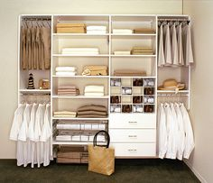Space Saving Storage Solutions for Clothes, Linens and Kitchens