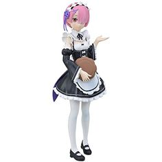 Sega Starting Life in Another World: Ram Premium Figure >>> Click image to review more details. (This is an affiliate link)