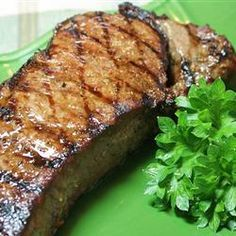 BBQ NY Strip - Would be a great marinade for London Broil--1/2 C EVOO, 1/2 C Worcestershire Sauce, 1/4 C minced garlic, 1/4 C steak seasoning, 1 TBSP red wine vinegar, 1/2 tsp basil, 1/2 tsp italian seasoning.  Marinate for at least 2 hrs.