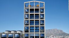 Photos of the world's top new hotel penthouses | CNN Travel Exterior Paint Colors, Exterior House Colors, Thomas Heatherwick, Cape Town Hotels, Grain Silo, Le Cap, Museum Of Contemporary Art, Best Hotels, Luxury Hotels