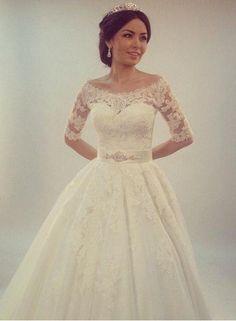 c4a7de9da10e6 54 en iyi ABİYE VE GELİNLİK görüntüsü, 2016   Dress wedding, Bridal ...