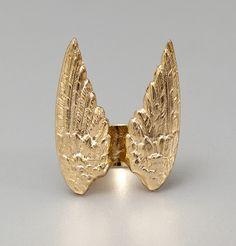 Bague Marcel Wing Gold Sowat en vente chez L'Exception