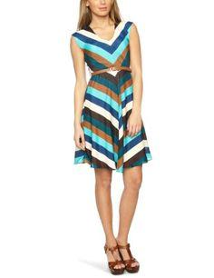 Louche Duchess Sleeveless Women's Dress Multi 14: Amazon.co.uk: Clothing
